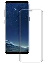Vidrio Templado Protector de pantalla para Samsung Galaxy S8 Protector de Pantalla, Integral Anti-Arañazos Borde Curvado 3D Dureza 9H A