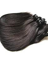 abordables -Bonne qualité brésilienne droite faisceaux de cheveux humains 5 pièces 500g lot 8a grade brésilienne vierge extensions de cheveux tisse