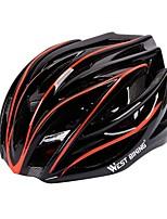 West biking Homens Mulheres Moto Capacete 27 Aberturas Ciclismo Ciclismo Esqui Moto H: 55-58CM
