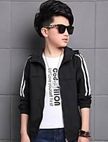 Boys' Print Jacket & Coat,Polyester Fall Winter