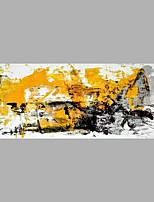 Handgemalte Abstrakt Horizontal,Abstrakt Ein Panel Leinwand Hang-Ölgemälde For Haus Dekoration