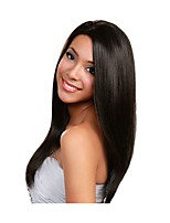 Women Human Hair Lace Wig Brazilian Human Hair Full Lace Glueless Full Lace 130% Density With Baby Hair Straight Wig Black Short Medium