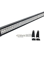 1PCS SUV Truck Design 40'' 240W 18000LM Combo Beam Lighting Pattern Dual Row Waterproof LED Light Bar White
