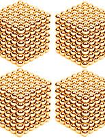 Kit de Bricolage Jouets Aimantés Super Aimants Boules magnétiques Soulage le Stress 4 Pièces 3mm Jouets Soulagement de stress et