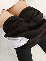Women's Medium Fleece Lined Legging,Solid