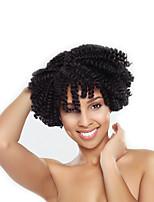Pre-loop Crochet Braids Hair Braid Kenzie Curl Jamaican Bounce Hair 100% kanekalon hair 100% Kanekalon Hair Black/Burgundy