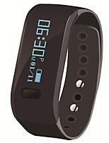 hhy pulseras inteligentes u p movimiento de sueño de vigilancia silenciosa reloj de alarma llamador información recordatorio ip67