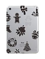 abordables -Para iPad (2017) Carcasa Funda Transparente Diseños Cubierta Trasera Funda Transparente Navidad Suave TPU para Apple iPad (2017) iPad Pro