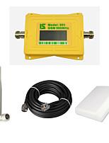 cellulare intelligente display gsm 900mhz 2g segnale amplificatore gsm980 ripetitore segnale con antenna frusta / antenna pannello / cavo
