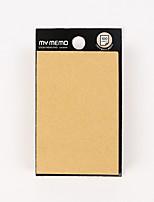 1 PC Pure Color Self-Stick Note Set