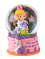 Balls Music Box Toys Duck Cartoon Plastics Toughened Glass 1 Pieces Not Specified Birthday Gift