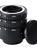 12mm20mm36mm AF Auto Focus ABS Extension Tubes Set for Nikon DSLR Cameras(NW-N-AF1-BL)