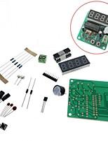 4 Bits Digital LED Electronic Clock Production Suite DIY Kits Set