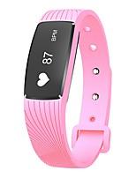 yy d08a bracelet intelligent résistant à l'eau / calories brûlées pédomètres exercice enregistreur cardio-cardio-vasque moniteur tactile