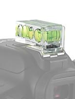 andoer 2-pack 2 assi dimensione doppia camera bolla spirito livello equilibrio girato caldo mount per canon nikon panosonic olympus sony