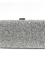 Women Bags All Seasons PU Evening Bag Beading for Wedding Event/Party Gold Black Silver