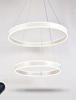 Modern Dimmable LED Ring Lighting Indoor Home Art DIY Ceiling Pendant Lights Chandeliers Lighting Fixtures with Remote Control