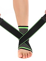 Thigh Support Knee Brace for Cycling Hiking Jogging Gym Running Unisex Adjustable Elastic Breathable Fits left or right ankle