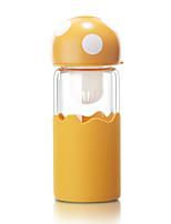 Ao ar Livre Wear to work Casual Ir Artigos para Bebida, 380 Gel Silica Vidro chá Água Garrafas de Água