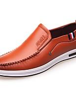 Homme Chaussures Polyuréthane Printemps Automne Confort Mocassins et Chaussons+D6148 Pour Décontracté Noir Jaune