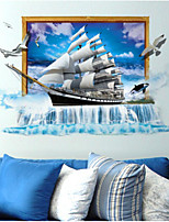 Romance Wall Stickers 3D Wall Stickers Decorative Wall Stickers,Plastic Material Home Decoration Wall Decal