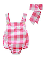 Baby Striped Lattice One-Pieces,Cotton Summer Short Pant