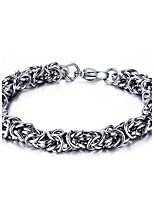 Men's Women's Chain Bracelet Punk Rock Titanium Steel Line Jewelry For Party Gift
