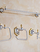 Towel Bar Towel Ring Toilet Paper Holder Robe Hook Modern Style Stainless Steel 60*25*25 Towel Bar Towel Ring Toilet Paper Holder Robe