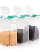 3 Kitchen Plastic Food Storage
