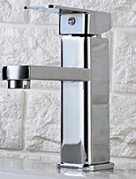 Centerset Ceramic Valve Single Handle One Hole Bathroom Sink Faucet