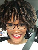 Afro Kinky Braids Hair Braid Afro Jerry Curl Crochet Curly Bouncy Curl Toni Curl Crochet Braids with Human Hair 100% kanekalon hair 100%