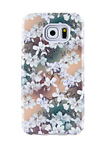 For Case Cover Pattern Back Cover Case Lines / Waves Flower Soft TPU for Samsung Galaxy S8 Plus S8 S7 edge S7 S6 edge plus S6 edge S6 S6
