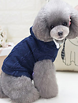 Dog Vest Dog Clothes Casual/Daily British Gray Red Blue