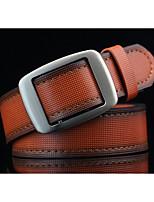 Men's Alloy Waist Belt,Pattern Color Block Retro