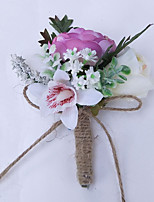 Bouquet sposa Fiore all'occhiello Matrimonio 10 cm ca.