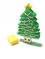 2GB Christmas USB Flash Drive Cartoon Creative Christmas Tree Christmas Gift USB 2.0