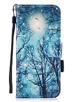 per il portafoglio del portacarta di copertura del caso con lo stand flip modello magnetico cassa piena del corpo per l'albero duro per la