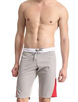 Homme Sexy Push-up Couleur Pleine Sous-vêtements Longs