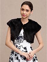 Faux Fur Wedding Party / Evening Women's Wrap Vests