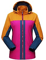 Women's Hiking Jacket Windproof Rain-Proof Breathability UV resistant Full Length Visible Zipper Top for Camping / Hiking Cycling