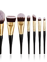 8 pcs Contour Brush Makeup Brush Set Blush Brush Eyeshadow Brush Brow Brush Concealer Brush Powder Brush Foundation Brush Synthetic Hair