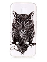 Case For Samsung Galaxy J7(2017) J5 (2017) Phone Case TPU Material Owl Pattern HD Phone Case J3(2017) J710 J510 J310 J3