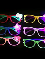 1pcs ha condotto i colori di ramdon della decorazione del partito del giocattolo della stalla dei vetri dei bambini di vetro