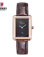 Women's Dress Watch Fashion Watch Chinese Quartz Leather Band Charm Luxury Casual Brown