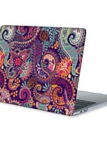 cheap -MacBook Case for MacBook Air 13-inch Macbook Air 11-inch MacBook Pro 13-inch with Retina display Mandala Flower TPU Material