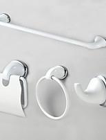 Bathroom Accessory Set / Stainless Steel Stainless Steel + A Grade ABS /Modern Style