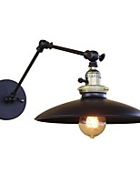 Retro Industrial Style Country Wrought Iron Wall Lights Restaurant Cafe Bars Bar Table Swing Arm Lights