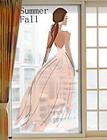 Art decò Adesivo per finestre,PVC / Vinile Materiale decorazione della finestra