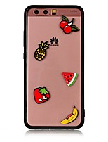 Case For Huawei P10 Plus P10 Transparent Back Cover Food 3D Cartoon Hard Acrylic for Huawei P10 Plus Huawei P10 Lite Huawei P10 Huawei P8