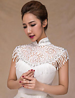 Women's Wrap Shrugs Polyester Wedding Party/ Evening Crystal
